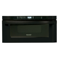 Sharp Pro 24 Microwave Drawer - Black