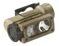 Streamlight 14104 Flashlight Sidewinder Compact C4 LED Tactical with CR123A Lithium Battery - Coyote
