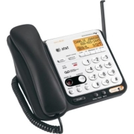 At&t Dect 6.0 2-handset Cordless Phone W/ Digital Answering System