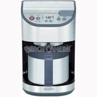 Krups KT611D50 Stainless Steel Programmable Precision Thermal Coffee Maker
