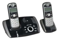 Motorola 4061-2 - DECT Cordless Phone with Digital Answer Machine - Twin Pack