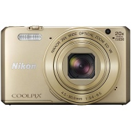 "Nikon COOLPIX S7000 Digital Camera, 16MP, HD 1080p, 20x Optical Zoom, Wi-Fi, NFC, 3"" LCD Screen"