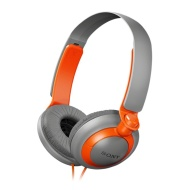 Sony MDR-XB200D - Grey / Orange Fullsize
