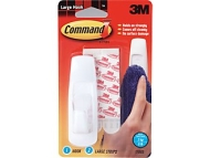 3M Medium Command Hooks - 2 Hooks, 4 Strips