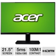 Acer - LED monitor - 1920 x 1080 - 5 ms
