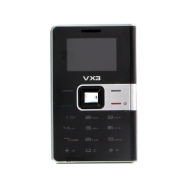 Bluechip VX3 Sim Free Mini Mobile Phone - Black/Silver
