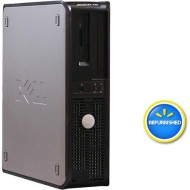 Dell Refurbished Optiplex 320 Desktop PC with Intel Dual-Core Processor, 2GB Memory, 160GB Hard Drive and Windows 7 Home Premium (Monitor Not Included