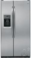 GE Freestanding Side-by-Side Refrigerator PSCF3RGX