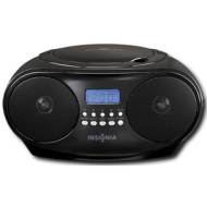 Insignia™ NS-B4111 Insignia - CD Boombox with AM/FM Tuner - Black