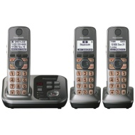 Kx-tg7733s Cordless Phone - 1.90 Ghz Dect 6.0 Silver
