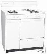 Summit Refrigeration WEM430KW - Deluxe Coil Element Electric Range, Broiler in Oven, White, 220 V