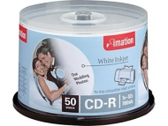 IMATION CDR 80MIN PRINTABLE SPINDLE PK50