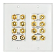OSD Audio WP16 White switch plate/outlet cover