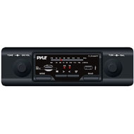 Pyle In-Dash AM/FM-MPX MP3 Shaft Style Dual Knob Radio w/USB/SD Card