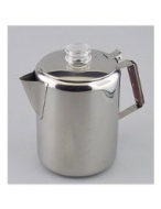 Rapid Brew Stainless Steel Stovetop Coffee Percolator, 2-12 cup