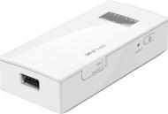 TP-Link M5360 Mobiler MIFI WLAN-Router mit Power Bank (WiFi Hotspot, 5200mAh interne Akku, SIM-Kartensteckplatz, OLED-Display, microSD-Kartenslot, HSP