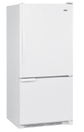 Amana ABB1921DE 30 Inch 19 cu. ft. Bottom Freezer Refrigerator