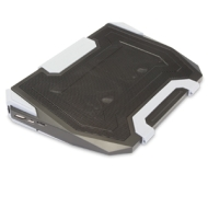 Cooler Master CM Storm SF-19 Strike Force (USB 3.0) - Fläkt till notebook-dator med 4-portars USB-hubb - svart
