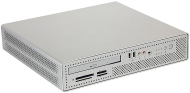 Foxconn Tuckaway - SFF - RAM 0 MB - no HDD - CD-RW / DVD - GMA 900 - Gigabit Ethernet - Monitor : none