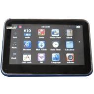 Cheap Car Portable GPS SatNav Sat Nav Navigation with Multimedia Player, bluetooth hands-free calling Europe+UK map on 4GB