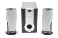 Armor 2.1 Channel Speaker System (2.1-channel - Black, Silver)