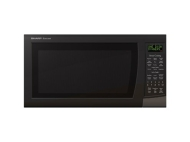 Sharp Electronics Black Microwave Oven with Carousel Turntable