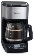 Capresso 5-Cup Mini Drip (Black with Stainless Steel)