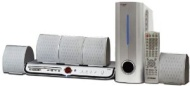 Curtis DVD5041 5.1 Channel DVD Home Theater System (White)