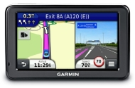 Garmin Nuvi 2455 GPS Satnav 4.3-inch screen, European maps, Lane Assist - Note: European maps ONLY on this GPS unit!
