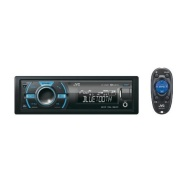 JVC KD-X50BT In-Dash Car Stereo Digital Media Receiver w/ Built-In Bluetooth, Front USB & Variable Color Control