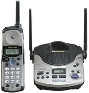 Panasonic KX-TG2570S 2.4 GHz DSS Cordless Phone with Answering System and Caller ID (Silver)