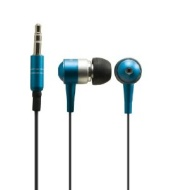 Sentry HO482 Metalix In-Earbuds with Case, Blue