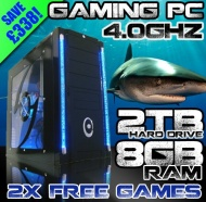 VIBOX Precision 6 **** DEAL **** - Home, Office, Family, Gaming PC, Multimedia, Desktop, PC, Computer, - PLUS X2 FREE GAMES! ( Overclocked 4.0GHz AMD