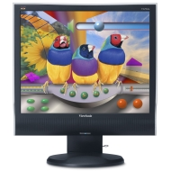 "ViewSonic 17"" VG732M LCD Monitor with HA Stand and Speakers"
