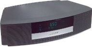 Bose Wave Radio II - Clock radio with iPod cradle - platinum white