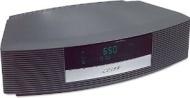 Bose Wave Radio II - Clock radio with iPod cradle - platinum white
