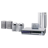 JVC - 5-Disc DVD Digital Theater System, 1000 watts