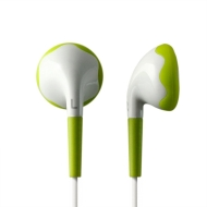 Pineapple's Rumble Z Vibrating earphone, Ultimate Gaming, Movie watching - White/Green