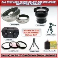 3x Telephoto & Wa Mc Lens KIT for Kodak Dx6490 Dx7590