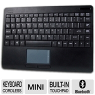 Adesso 2.4 GHz RF Wireless SlimTouch Keyboard WKB-4000UB