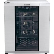 Cuisinart - Private Reserve 16-Bottle Wine Cellar - Stainless-Steel