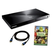 Samsung 3D Bluray Plyr/Shrek 4 Bluray 3D/Cable