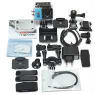 COMET ® SJ4000 blau wasserdichte Kamera Action Sport Cam Full HD 720p 1080p Helmkamera Videokameras