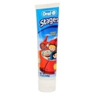 Oral-B Stages Toothpaste, Little Einstein 125 ml For Kids