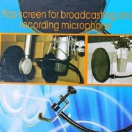 niceEshop Studio Microphone Mic Wind Screen Pop Filter Mask Shied for Speaking Recording