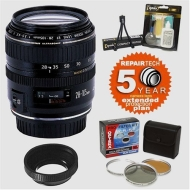 Canon EF 28-105mm f/3.5-4.5 II USM AF Zoom Wide Angle-Telephoto Lens & 5 Year Warranty & Filters & Accessory Kit
