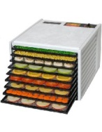 Excalibur 3900 Deluxe Series 9 Tray Food Dehydrator - White