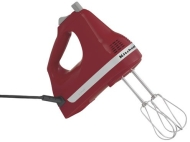 KitchenAid Empire Red 5-Speed Hand Mixer