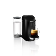 Krups Nespresso Vertuo Plus Machine, Piano Black