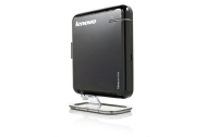 Lenovo IdeaCentre Q100 3014 - Tiny desktop - 1 x Atom 230 / 1.6 GHz - RAM 1 GB - HDD 1 x 160 GB - 307DV - Gigabit Ethernet - Win XP Home - Monitor :